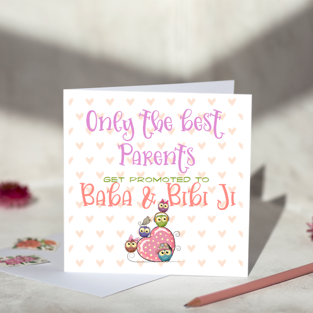 Only The Best Parents Get Promoted to Baba & Bibi