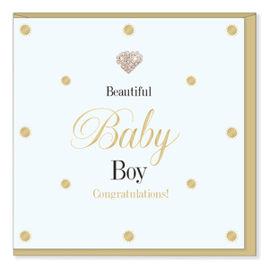 Mad Dots Baby Card