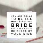 Bride To Be Card