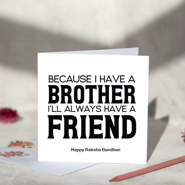 Ain't No Brother Rakhi Card