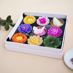 Big Assorted Butterfly Bird and Flower Scented Tea light Set