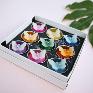 Big Assorted Butterfly Scented Tea Light Set