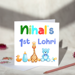 Personalised Lohri Card