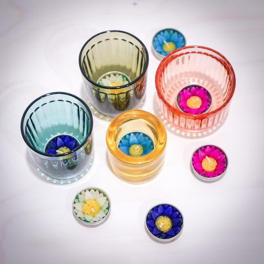 Assorted Water Lilly Scented Tea lights
