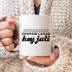 Chapair Lavan Chalk Hearts Mug