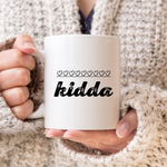 Kidda Chalk Hearts Mug