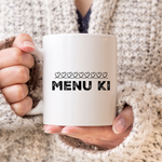 Menu Ki Chalk Hearts Mug