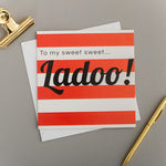 STRIPE SWEET LADOO CARD
