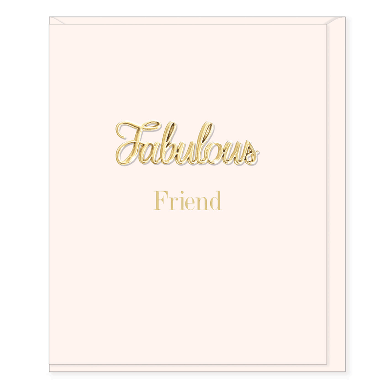 Oh So Charming - Fabulous Friend Card