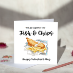 We Go Together Like Fish & Chips