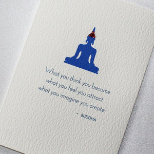 What You Think, You Become Greeting Card