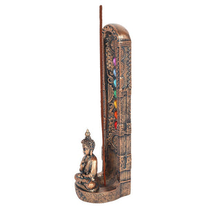 Chakra and Buddha Incense Holder