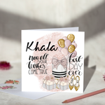 Khala May All Your Dreams Come True Birthday Card