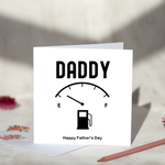 Daddy Low Fuel Fathers Day Card
