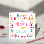 Mami Birthday Card