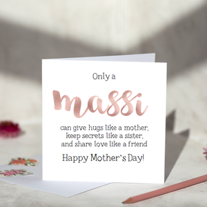 Only A Massi Mother's Day Rose Gold