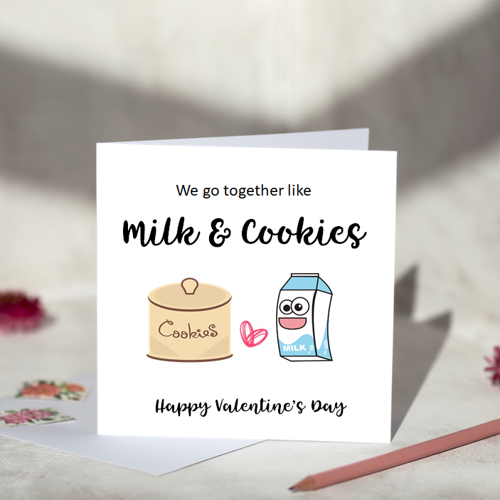 We Go Together Like Milk & Cookies
