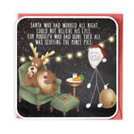 Mince Pies Greeting Card