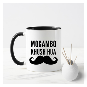 Mogambo Khush Hua Male Mug