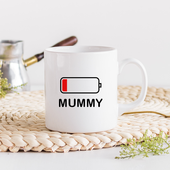 Mummy Battery Mug