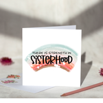 Sisterhood Greeting Card