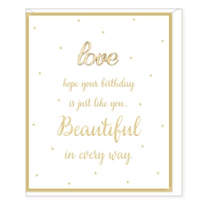 Oh So Charming - Happy Birthday Card