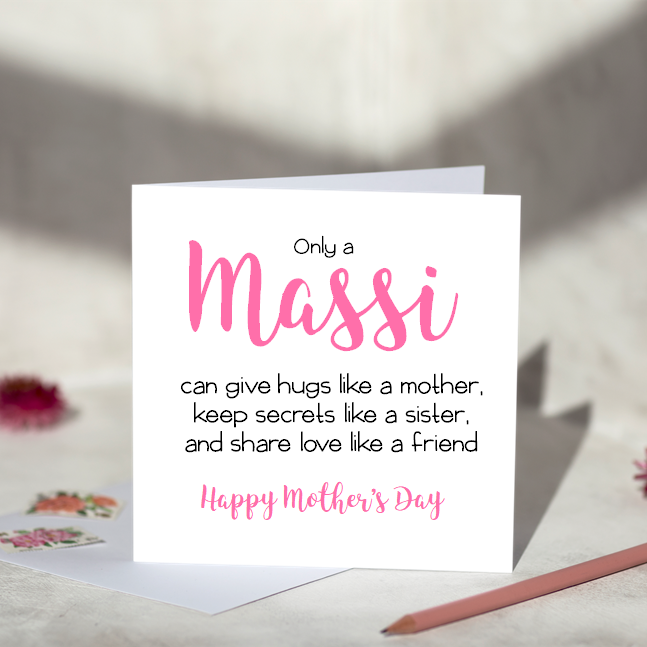 Only A Massi Mother's Day