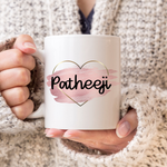 Rose Gold Patheeji Mug