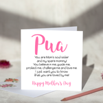 Pua Mother's Day Card