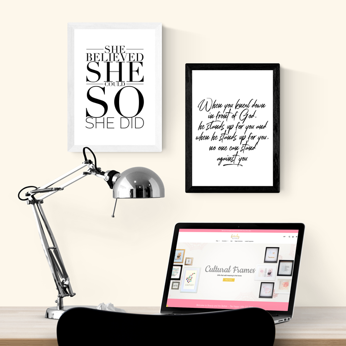 She Believed She Could Art Print or Framed