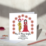 Sikh Couple Wedding Card
