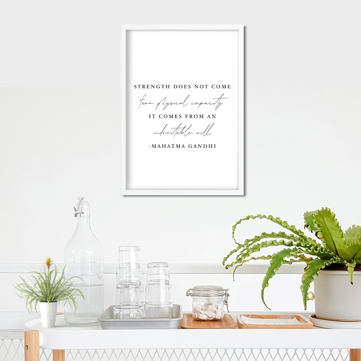 Strength Art Print or Framed