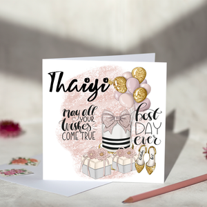 Thaiyi May All Your Dreams Come True Birthday Card