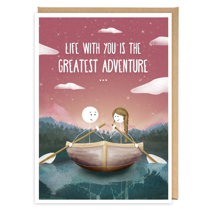 Greatest Adventure Greeting Card