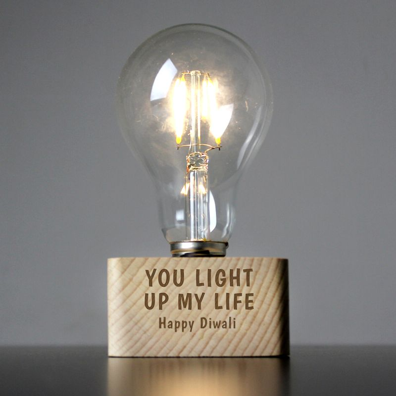 You Light Up My Life LED Bulb Table Lamp