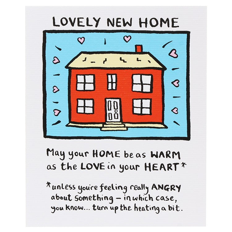 Edward Monkton Lovely New Home Card