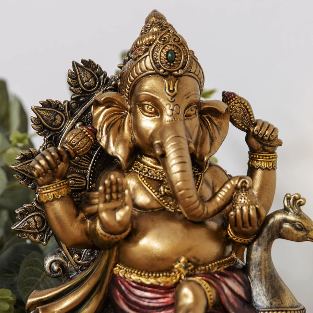 Faith & Hope Bronze Effect Medium Ganesh