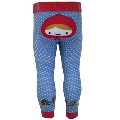 RED RIDING HOOD MOTIF LEGGINGS