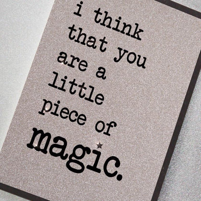 Magic Greeting Card