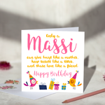 Only A Massi - Birthday Card
