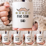 Five Star Name Mug