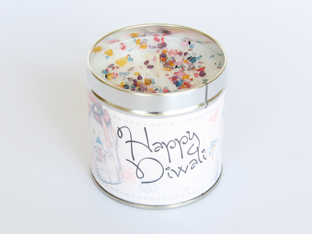 Happy Diwali Scented Candle