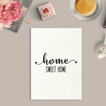 Home Sweet Home Art Print or Framed