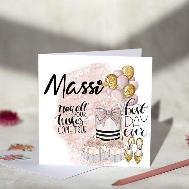 Massi - Birthday Card
