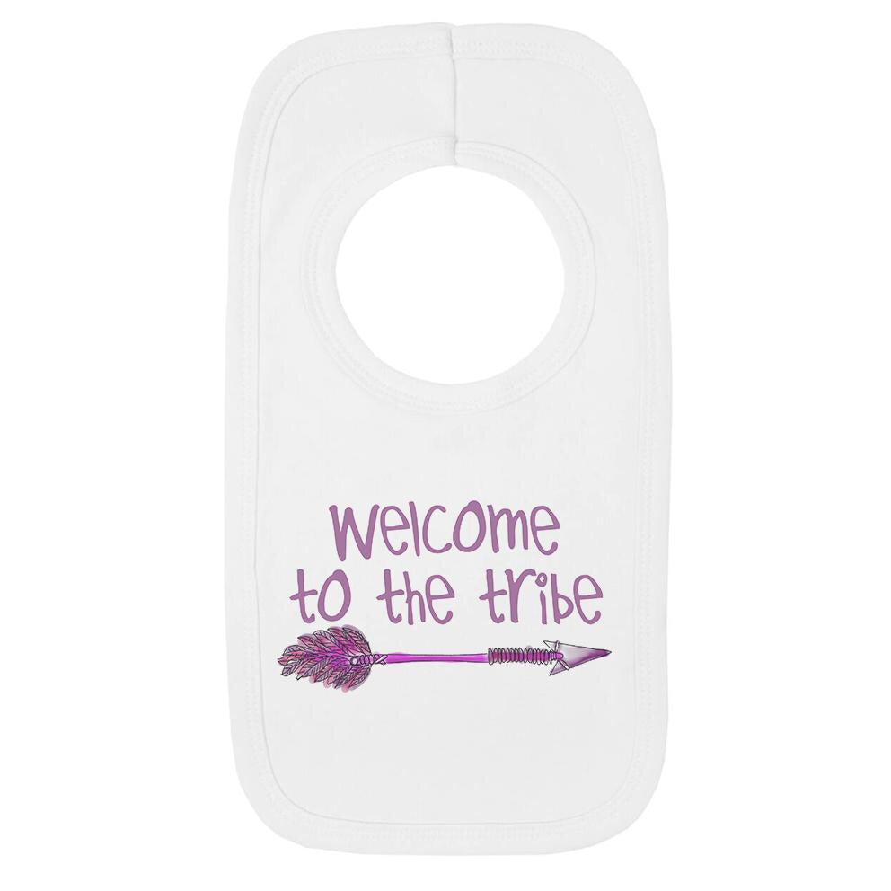 Welcome To The Tribe Arrow Bib