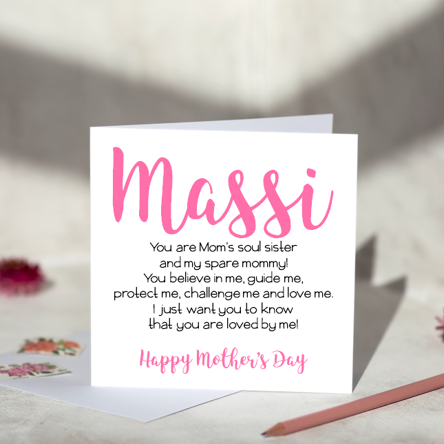 Massi Mother's Day Card