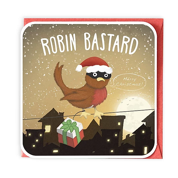 Robin Bastard Greeting Card