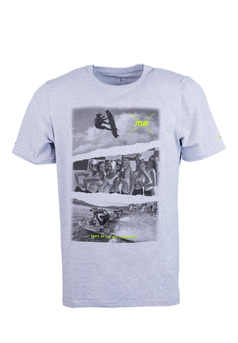 JetSurf T-shirt SEQUENCE GREY