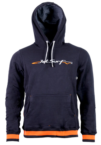 JetSurf Hoodie BASIC PULLOWER BLACK