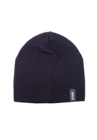 JetSurf Caps WINTER HAT BLACK